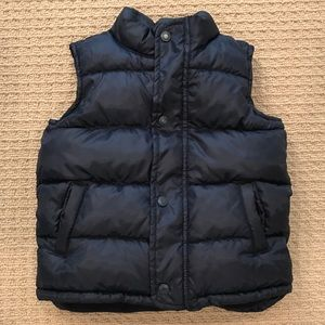 Worn Once! Old Navy Quilted Puffer Vest, 5T